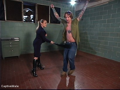 Photo number 1 from The Patient shot for Captive Male on Kink.com. Featuring Harmony and Ryan Knox in hardcore BDSM & Fetish porn.