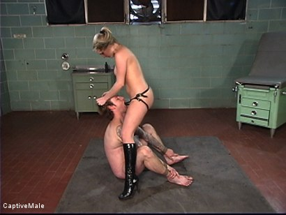 Photo number 8 from The Patient shot for Captive Male on Kink.com. Featuring Harmony and Ryan Knox in hardcore BDSM & Fetish porn.