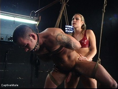 Photo number 12 from The Client shot for Captive Male on Kink.com. Featuring Harmony and Dak Ramsey in hardcore BDSM & Fetish porn.