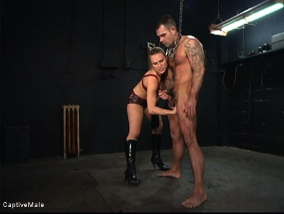 Photo number 15 from The Client shot for Captive Male on Kink.com. Featuring Harmony and Dak Ramsey in hardcore BDSM & Fetish porn.