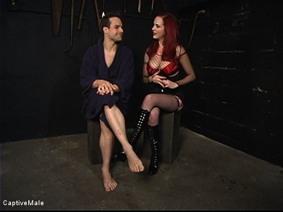 Photo number 15 from Pathetic Bitch Boy shot for Captive Male on Kink.com. Featuring Mz Berlin and Max Powers in hardcore BDSM & Fetish porn.