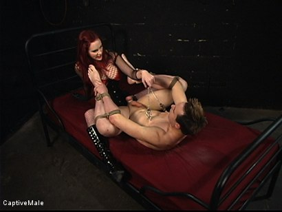 Photo number 16 from Pathetic Bitch Boy shot for Captive Male on Kink.com. Featuring Mz Berlin and Max Powers in hardcore BDSM & Fetish porn.
