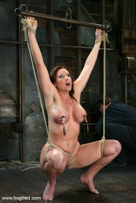Photo number 7 from Christina Carter shot for Hogtied on Kink.com. Featuring Christina Carter in hardcore BDSM & Fetish porn.