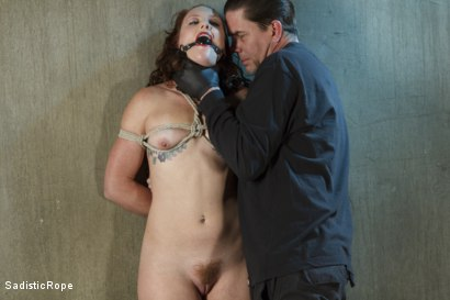 Photo number 1 from Taken to the Next Level - Extreme suffering, intense bondage, and squirting orgasms! shot for Sadistic Rope on Kink.com. Featuring Sahara Rain in hardcore BDSM & Fetish porn.