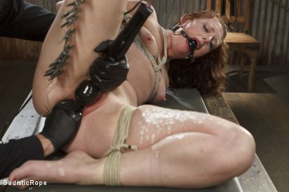 Photo number 10 from Taken to the Next Level - Extreme suffering, intense bondage, and squirting orgasms! shot for Sadistic Rope on Kink.com. Featuring Sahara Rain in hardcore BDSM & Fetish porn.
