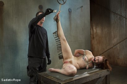 Photo number 11 from Taken to the Next Level - Extreme suffering, intense bondage, and squirting orgasms! shot for Sadistic Rope on Kink.com. Featuring Sahara Rain in hardcore BDSM & Fetish porn.