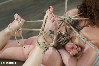 Photo number 2 from Taken to the Next Level - Extreme suffering, intense bondage, and squirting orgasms! shot for Sadistic Rope on Kink.com. Featuring Sahara Rain in hardcore BDSM & Fetish porn.