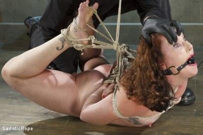 Photo number 3 from Taken to the Next Level - Extreme suffering, intense bondage, and squirting orgasms! shot for Sadistic Rope on Kink.com. Featuring Sahara Rain in hardcore BDSM & Fetish porn.