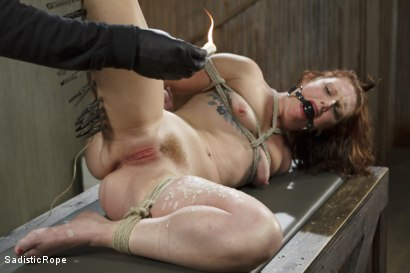 Photo number 9 from Taken to the Next Level - Extreme suffering, intense bondage, and squirting orgasms! shot for Sadistic Rope on Kink.com. Featuring Sahara Rain in hardcore BDSM & Fetish porn.