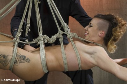 Photo number 9 from Helpless Whore Devastated by Extreme Bondage shot for Sadistic Rope on Kink.com. Featuring Andre Shakti in hardcore BDSM & Fetish porn.