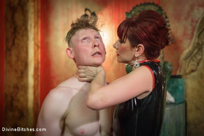 Photo number 14 from Maitresse Madeline visits famous Midtown Manhattan dungeon!!! shot for Divine Bitches on Kink.com. Featuring Rob Yaeger and Maitresse Madeline Marlowe in hardcore BDSM & Fetish porn.