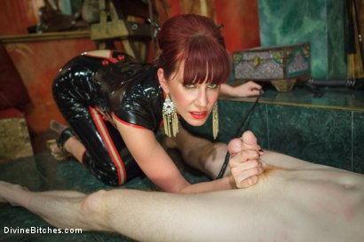 Photo number 9 from Maitresse Madeline visits famous Midtown Manhattan dungeon!!! shot for Divine Bitches on Kink.com. Featuring Rob Yaeger and Maitresse Madeline Marlowe in hardcore BDSM & Fetish porn.