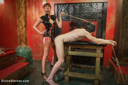 Photo number 5 from Maitresse Madeline visits famous Midtown Manhattan dungeon!!! shot for Divine Bitches on Kink.com. Featuring Rob Yaeger and Maitresse Madeline Marlowe in hardcore BDSM & Fetish porn.