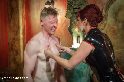 Photo number 1 from Maitresse Madeline visits famous Midtown Manhattan dungeon!!! shot for Divine Bitches on Kink.com. Featuring Rob Yaeger and Maitresse Madeline Marlowe in hardcore BDSM & Fetish porn.