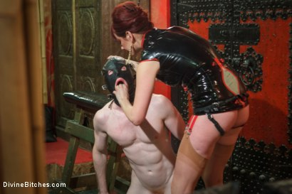 Photo number 10 from Maitresse Madeline visits famous Midtown Manhattan dungeon!!! shot for Divine Bitches on Kink.com. Featuring Rob Yaeger and Maitresse Madeline Marlowe in hardcore BDSM & Fetish porn.