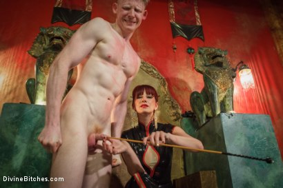 Photo number 3 from Maitresse Madeline visits famous Midtown Manhattan dungeon!!! shot for Divine Bitches on Kink.com. Featuring Rob Yaeger and Maitresse Madeline Marlowe in hardcore BDSM & Fetish porn.