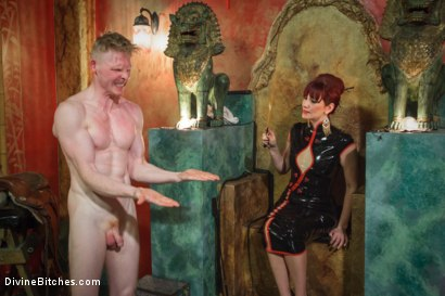 Photo number 2 from Maitresse Madeline visits famous Midtown Manhattan dungeon!!! shot for Divine Bitches on Kink.com. Featuring Rob Yaeger and Maitresse Madeline Marlowe in hardcore BDSM & Fetish porn.