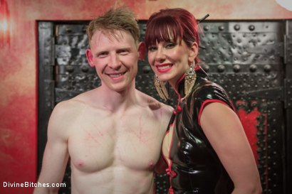 Photo number 6 from Maitresse Madeline visits famous Midtown Manhattan dungeon!!! shot for Divine Bitches on Kink.com. Featuring Rob Yaeger and Maitresse Madeline Marlowe in hardcore BDSM & Fetish porn.