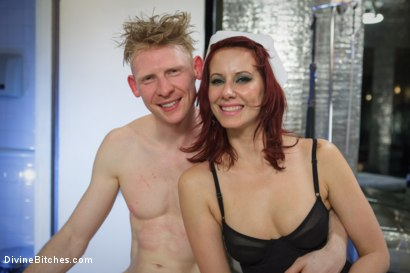 Photo number 5 from Maitresse And the City Part 2: The Hospital shot for Divine Bitches on Kink.com. Featuring Rob Yaeger and Maitresse Madeline Marlowe in hardcore BDSM & Fetish porn.