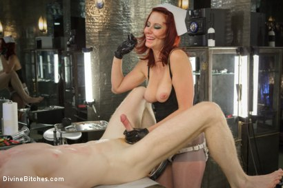 Photo number 10 from Maitresse And the City Part 2: The Hospital shot for Divine Bitches on Kink.com. Featuring Rob Yaeger and Maitresse Madeline Marlowe in hardcore BDSM & Fetish porn.