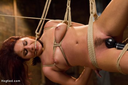 Photo number 9 from Awesome Ass Aguilera Get Rough Treatment on HogTied shot for Hogtied on Kink.com. Featuring Liv Aguilera in hardcore BDSM & Fetish porn.