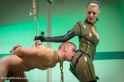 Photo number 13 from A Christmas Bitch shot for Divine Bitches on Kink.com. Featuring David Lane and Cherry Torn in hardcore BDSM & Fetish porn.