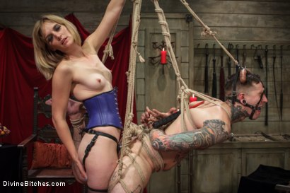 Photo number 5 from Social media stalker punished & milked of his cum by Miss Mona Wales! shot for Divine Bitches on Kink.com. Featuring Ruckus and Mona Wales in hardcore BDSM & Fetish porn.