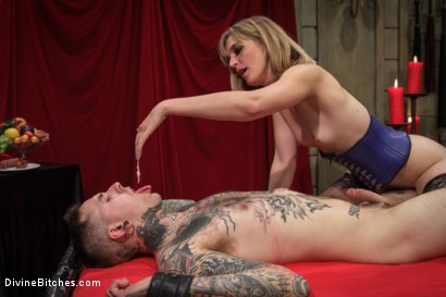 Photo number 10 from Social media stalker punished & milked of his cum by Miss Mona Wales! shot for Divine Bitches on Kink.com. Featuring Ruckus and Mona Wales in hardcore BDSM & Fetish porn.
