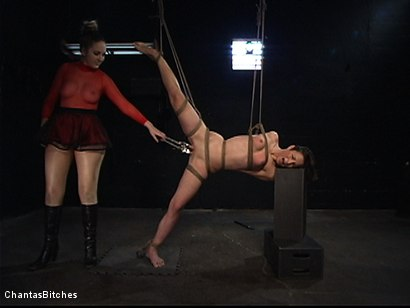 Photo number 5 from Fire and Determination shot for Chantas Bitches on Kink.com. Featuring Amber Rayne in hardcore BDSM & Fetish porn.