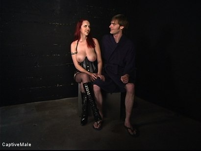 Photo number 16 from The Human Ashtray shot for Captive Male on Kink.com. Featuring Mz Berlin and Johnny Rocket in hardcore BDSM & Fetish porn.