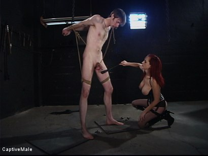 Photo number 6 from The Human Ashtray shot for Captive Male on Kink.com. Featuring Mz Berlin and Johnny Rocket in hardcore BDSM & Fetish porn.