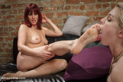 Photo number 7 from The Pussy Parlor  shot for Whipped Ass on Kink.com. Featuring Ella Nova  and Maitresse Madeline Marlowe in hardcore BDSM & Fetish porn.