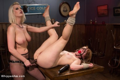 Photo number 9 from Desperate Measures shot for Whipped Ass on Kink.com. Featuring Claire Robbins and Cherry Torn in hardcore BDSM & Fetish porn.