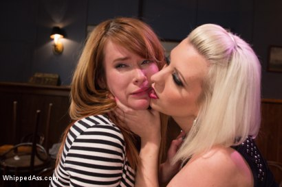 Photo number 1 from Desperate Measures shot for Whipped Ass on Kink.com. Featuring Claire Robbins and Cherry Torn in hardcore BDSM & Fetish porn.