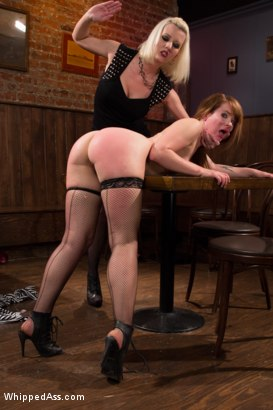Photo number 3 from Desperate Measures shot for Whipped Ass on Kink.com. Featuring Claire Robbins and Cherry Torn in hardcore BDSM & Fetish porn.