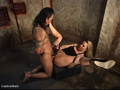 Photo number 11 from The New Male Sub Audition shot for Captive Male on Kink.com. Featuring Harmony and Tao Jonz in hardcore BDSM & Fetish porn.