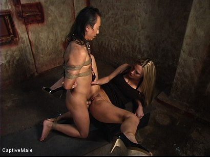 Photo number 8 from The New Male Sub Audition shot for Captive Male on Kink.com. Featuring Harmony and Tao Jonz in hardcore BDSM & Fetish porn.