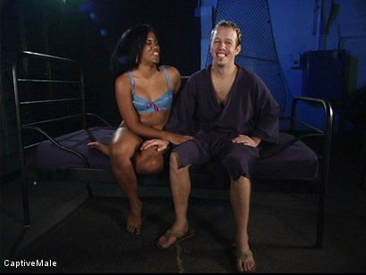 Photo number 15 from Into The Fire shot for Captive Male on Kink.com. Featuring Billy and Sydnee Capri in hardcore BDSM & Fetish porn.