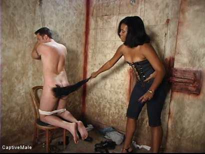 Photo number 1 from Craving To Get Laid shot for Captive Male on Kink.com. Featuring Dick Richards and Sydnee Capri in hardcore BDSM & Fetish porn.