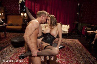 Photo number 6 from Anal Slave Broken in by Gorgeous Chanel Preston shot for The Upper Floor on Kink.com. Featuring Bill Bailey, Chanel Preston and Angel Allwood in hardcore BDSM & Fetish porn.