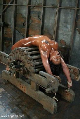 Photo number 9 from Jada Fire shot for Hogtied on Kink.com. Featuring Jada Fire in hardcore BDSM & Fetish porn.