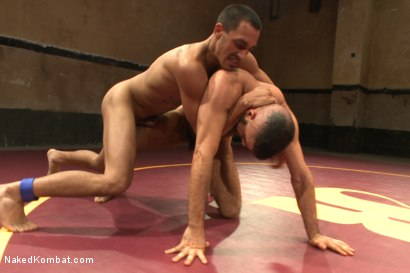 "Photo number 7 from Rico ""The Rocket-Launcher"" Romero vs Marcus ""The Iceman"" Isaacs shot for Naked Kombat on Kink.com. Featuring Rico Romero and Marcus Isaacs in hardcore BDSM & Fetish porn."