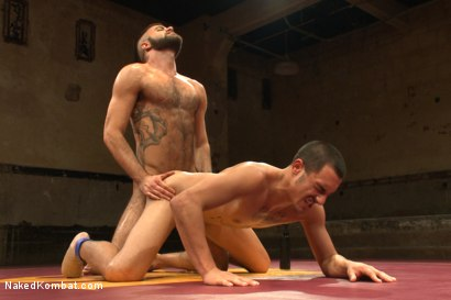 "Photo number 13 from Rico ""The Rocket-Launcher"" Romero vs Marcus ""The Iceman"" Isaacs shot for Naked Kombat on Kink.com. Featuring Rico Romero and Marcus Isaacs in hardcore BDSM & Fetish porn."