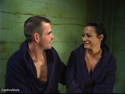 Photo number 15 from Satisfying Her Sadistic Mind shot for Captive Male on Kink.com. Featuring Sandra Romain and Dak Ramsey in hardcore BDSM & Fetish porn.