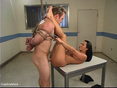 Photo number 8 from Sandra Romain's Turn shot for Captive Male on Kink.com. Featuring Sandra Romain and Billy in hardcore BDSM & Fetish porn.