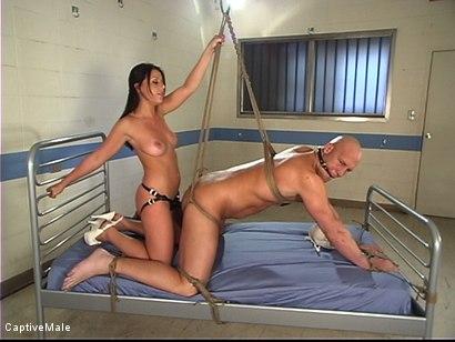 Photo number 6 from The Deviant Nurse shot for Captive Male on Kink.com. Featuring Penny Flame and Christian in hardcore BDSM & Fetish porn.