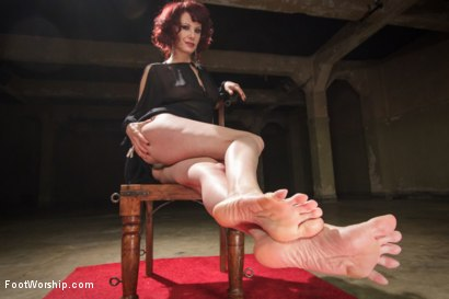 Photo number 3 from Hypnotizing Foot Worship with Maitresse Madeline shot for Foot Worship on Kink.com. Featuring Jake Jammer and Maitresse Madeline Marlowe in hardcore BDSM & Fetish porn.
