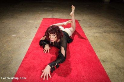 Photo number 4 from Hypnotizing Foot Worship with Maitresse Madeline shot for Foot Worship on Kink.com. Featuring Jake Jammer and Maitresse Madeline Marlowe in hardcore BDSM & Fetish porn.
