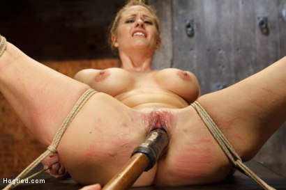 Photo number 9 from Request Fulfilled: Big Tit MILF Bondage Predicaments shot for Hogtied on Kink.com. Featuring Holly Heart in hardcore BDSM & Fetish porn.