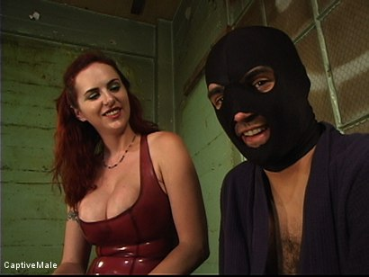 Photo number 15 from Dick On A Sawhorse shot for Captive Male on Kink.com. Featuring Mz Berlin and Lefty in hardcore BDSM & Fetish porn.